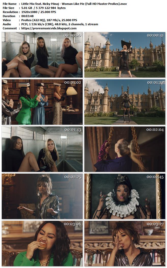 Little Mix feat. Nicki Minaj – Woman Like Me