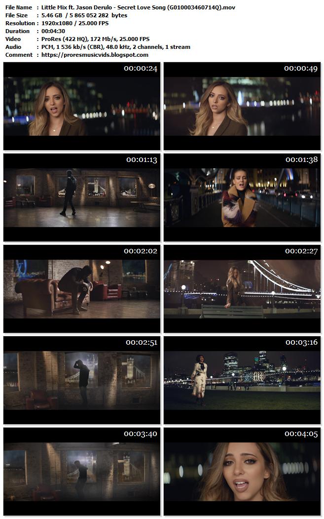 Little Mix ft. Jason Derulo – Secret Love Song
