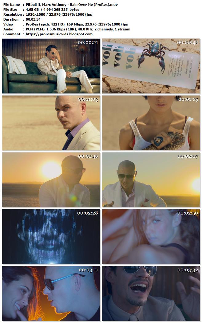 Pitbull – Rain Over Me Feat Marc Anthony