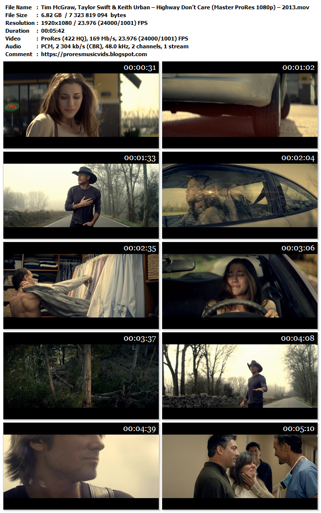 Tim McGraw, Taylor Swift & Keith Urban – Highway Don't Care