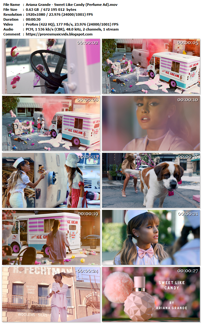 Ariana Grande – Sweet Like Candy (Official Fragrance Commercial)
