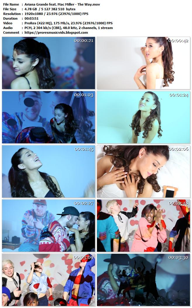 Ariana Grande feat. Mac Miller – The Way