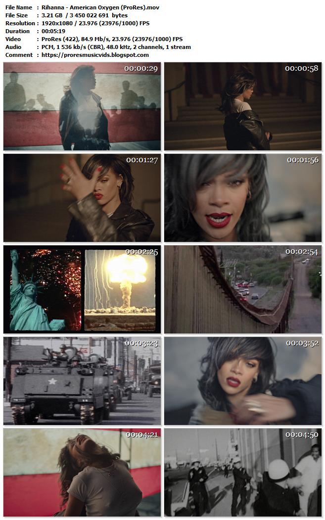 Rihanna – American Oxygen