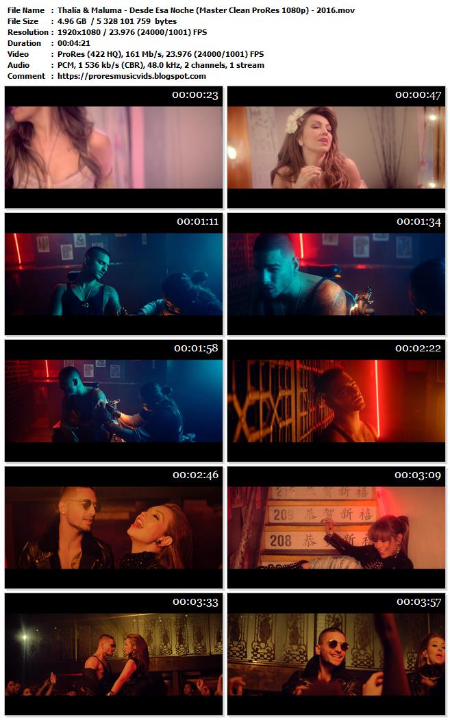 Thalía & Maluma – Desde Esa Noche