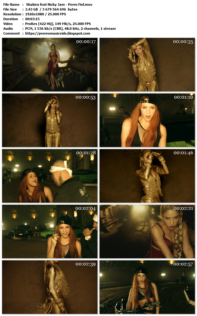 Shakira feat Nicky Jam – Perro Fiel