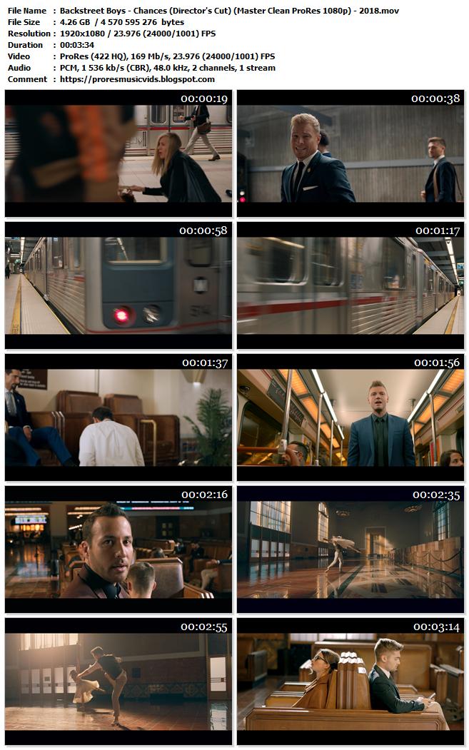 Backstreet Boys – Chances (Director's Cut)