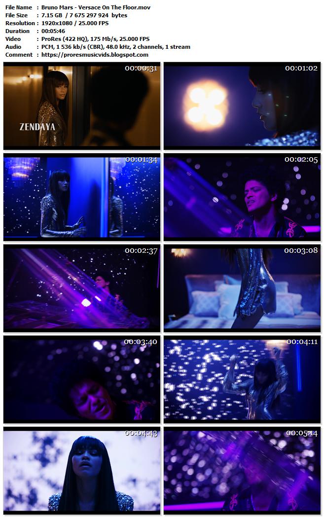 Bruno Mars – Versace On The Floor – FAKE