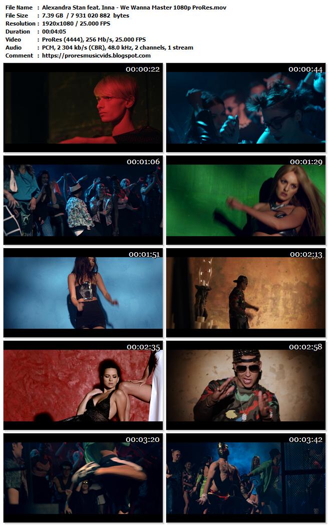Alexandra Stan & Inna Feat Daddy Yankee – We Wanna