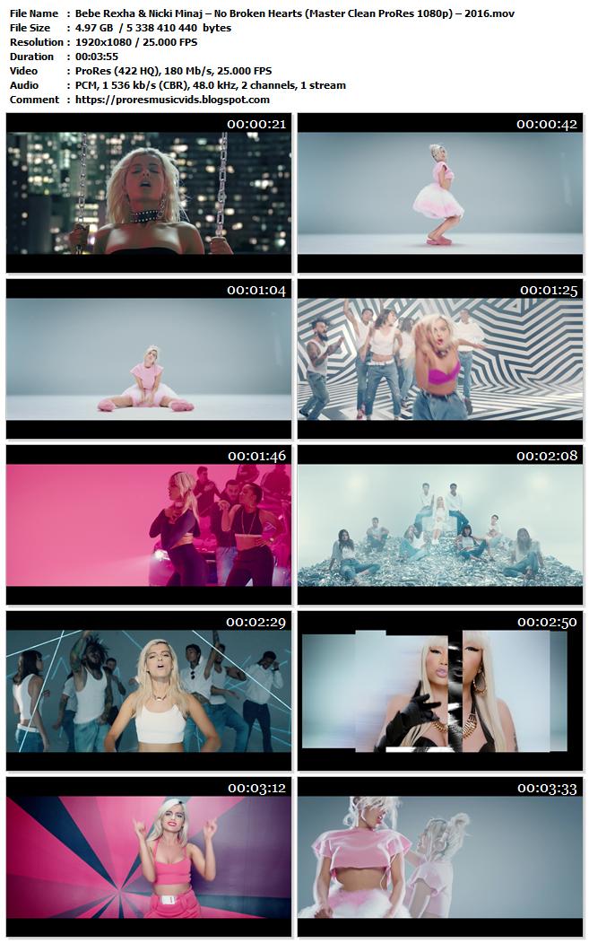 Bebe Rexha & Nicki Minaj – No Broken Hearts