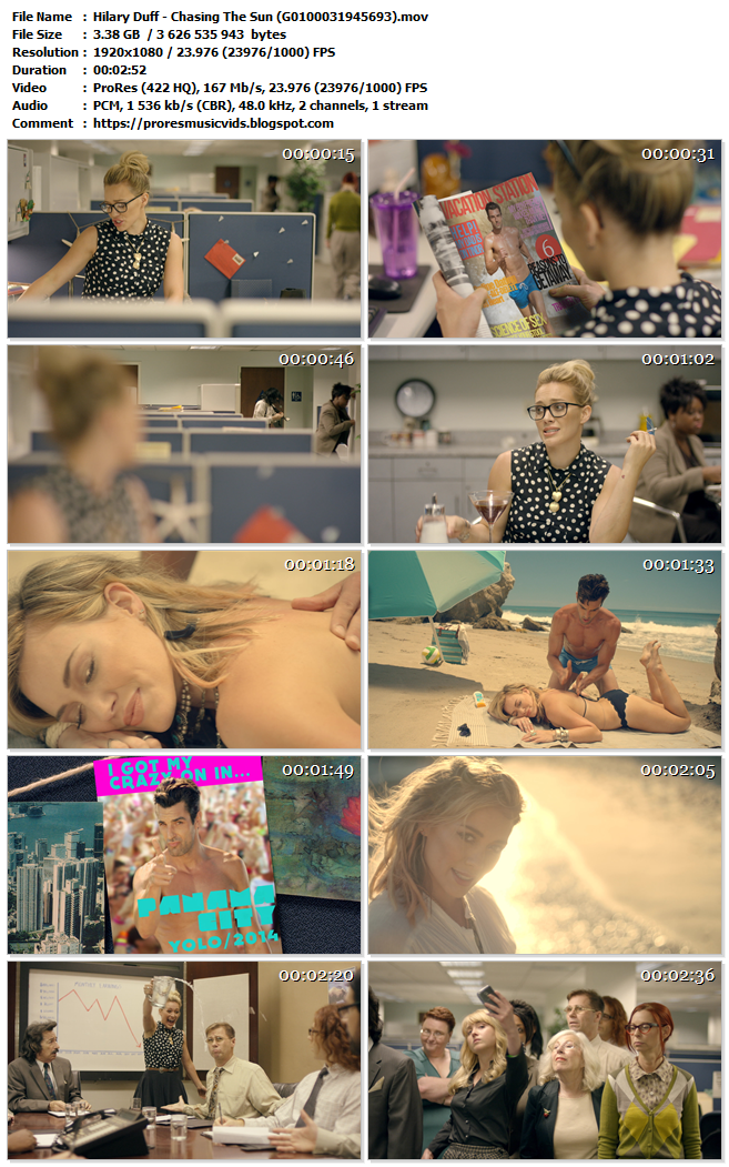 Hilary Duff – Chasing The Sun