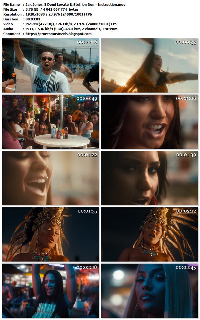 Jax Jones ft Demi Lovato & Stefflon Don – Instruction