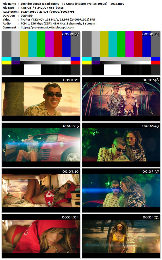 Jennifer Lopez & Bad Bunny – Te Guste