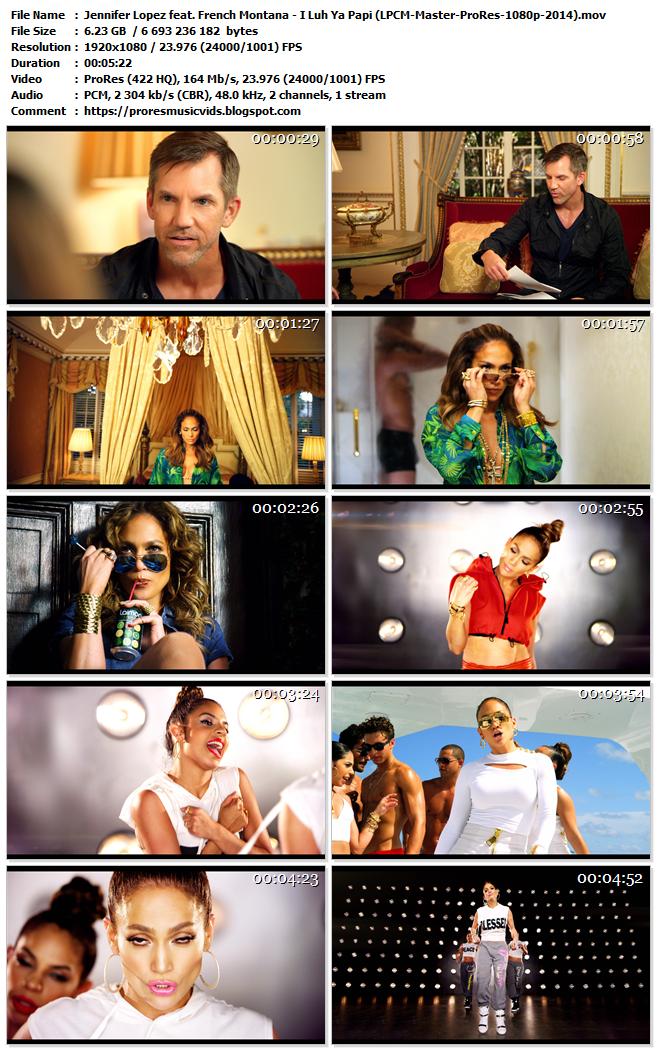 Jennifer Lopez feat. French Montana – I Luh Ya Papi