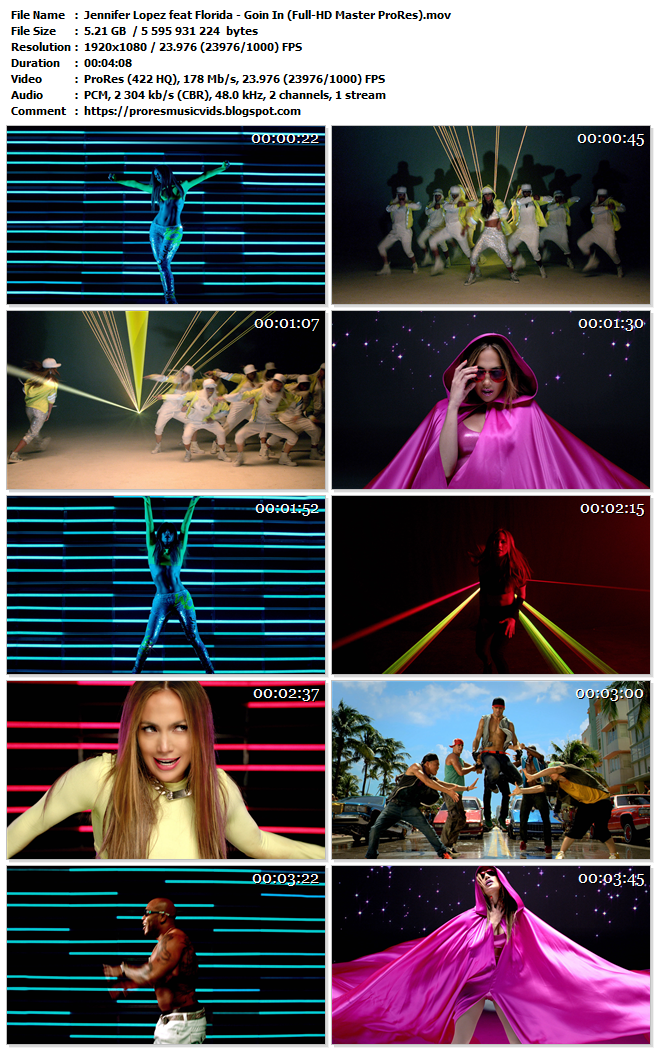 Jennifer Lopez feat Florida – Goin In
