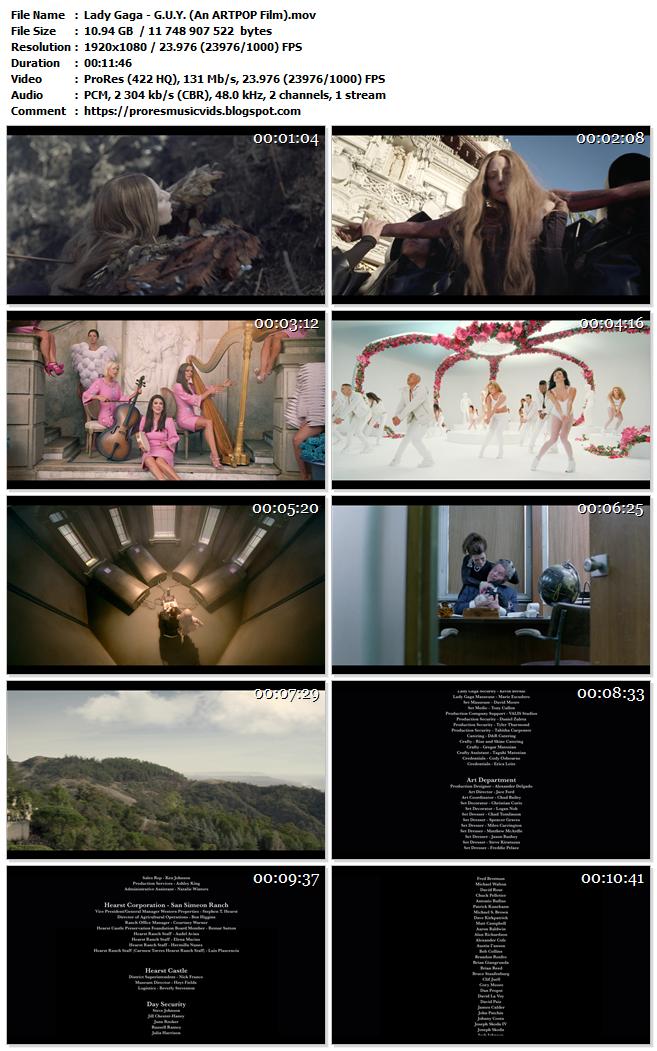 Lady Gaga – G.U.Y. (An ARTPOP Film)