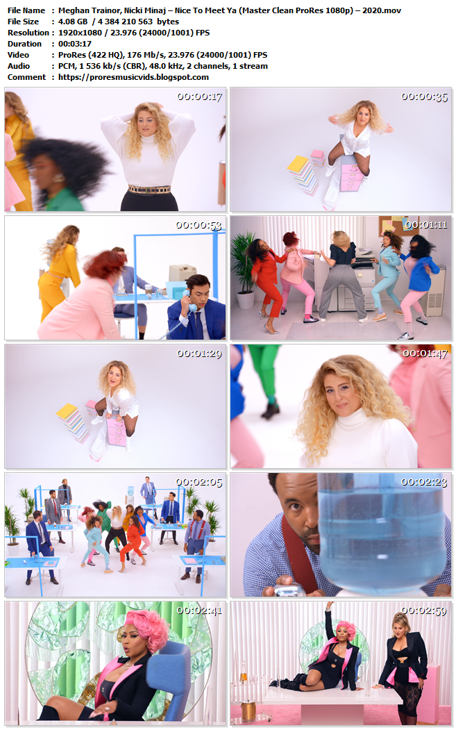 Meghan Trainor, Nicki Minaj – Nice To Meet Ya