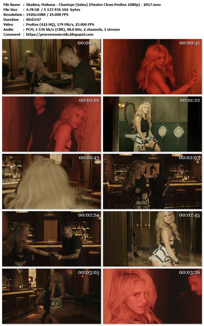 Shakira, Maluma – Chantaje (Salsa)