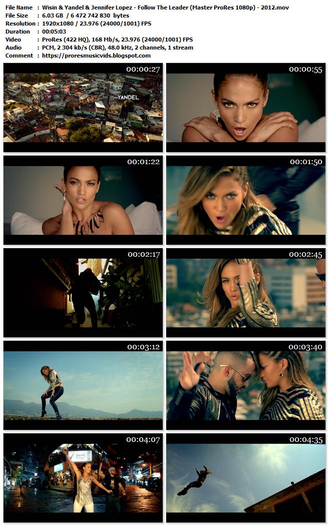 Wisin & Yandel & Jennifer Lopez – Follow The Leader