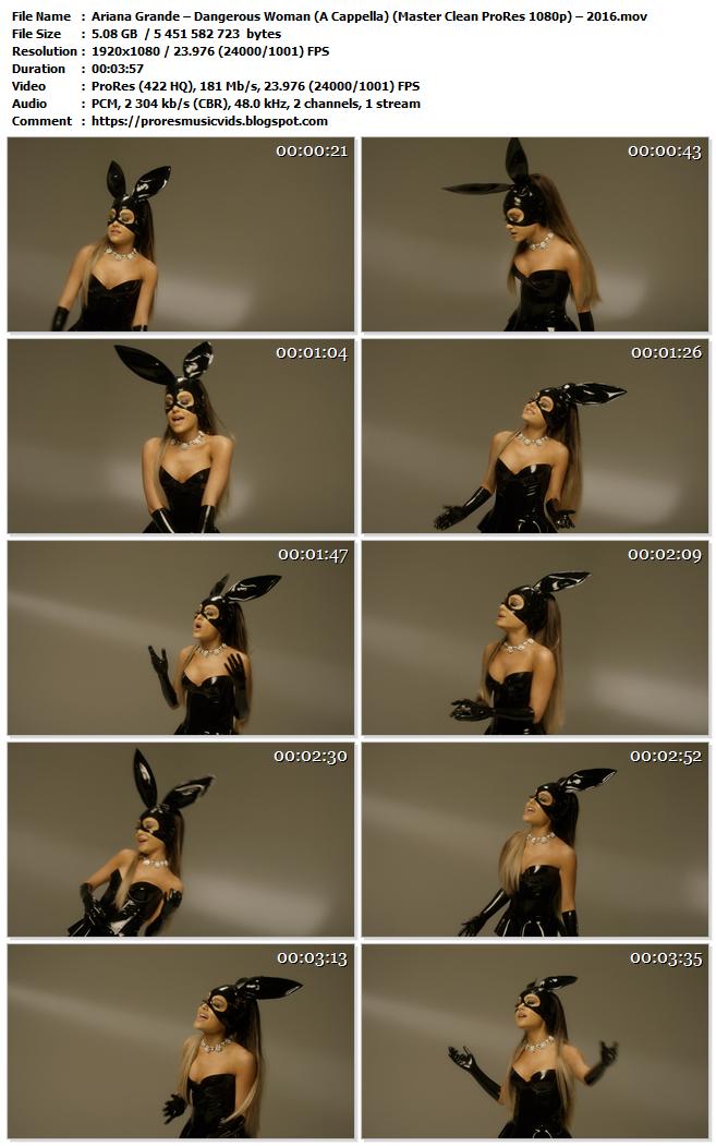Ariana Grande – Dangerous Woman (A Cappella)