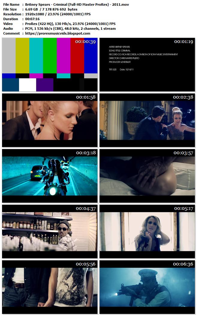 Britney Spears – Criminal