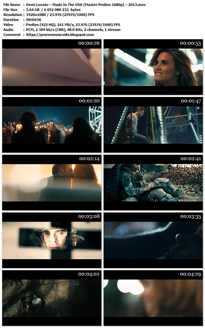 Demi Lovato – Made In The USA
