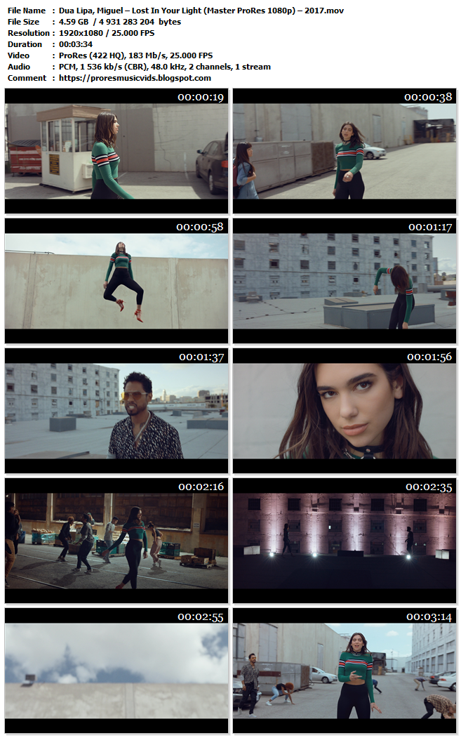 Dua Lipa, Miguel – Lost In Your Light