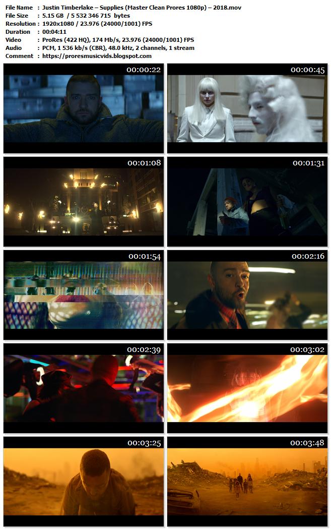 Justin Timberlake – Supplies