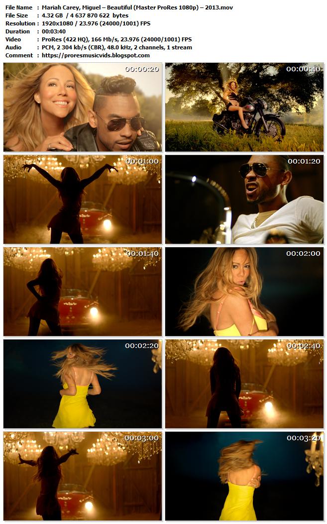 Mariah Carey, Miguel – Beautiful