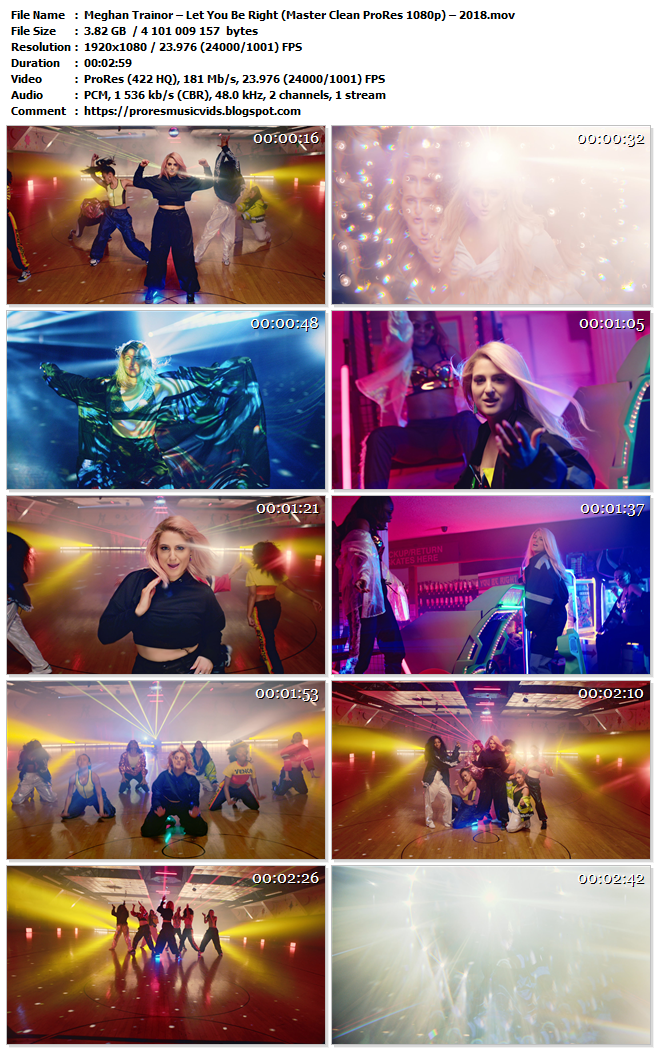 Meghan Trainor – Let You Be Right