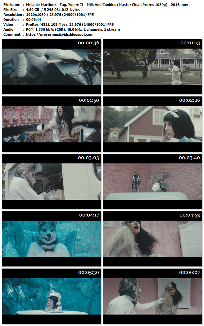 Melanie Martinez – Tag, You're It – Milk And Cookies