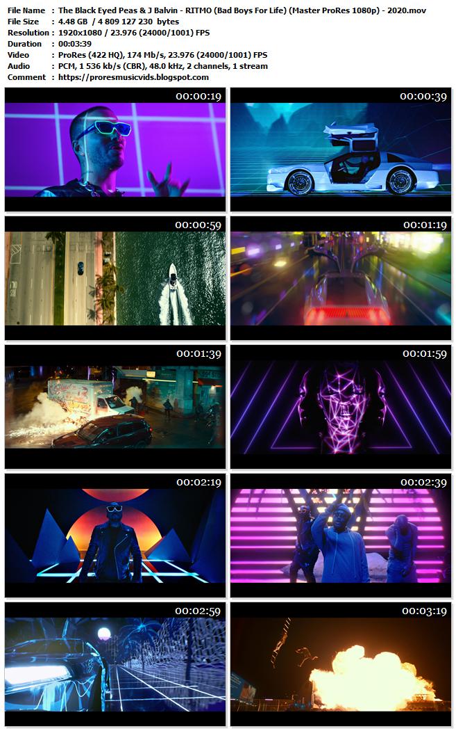 The Black Eyed Peas & J Balvin – RITMO (Bad Boys For Life)