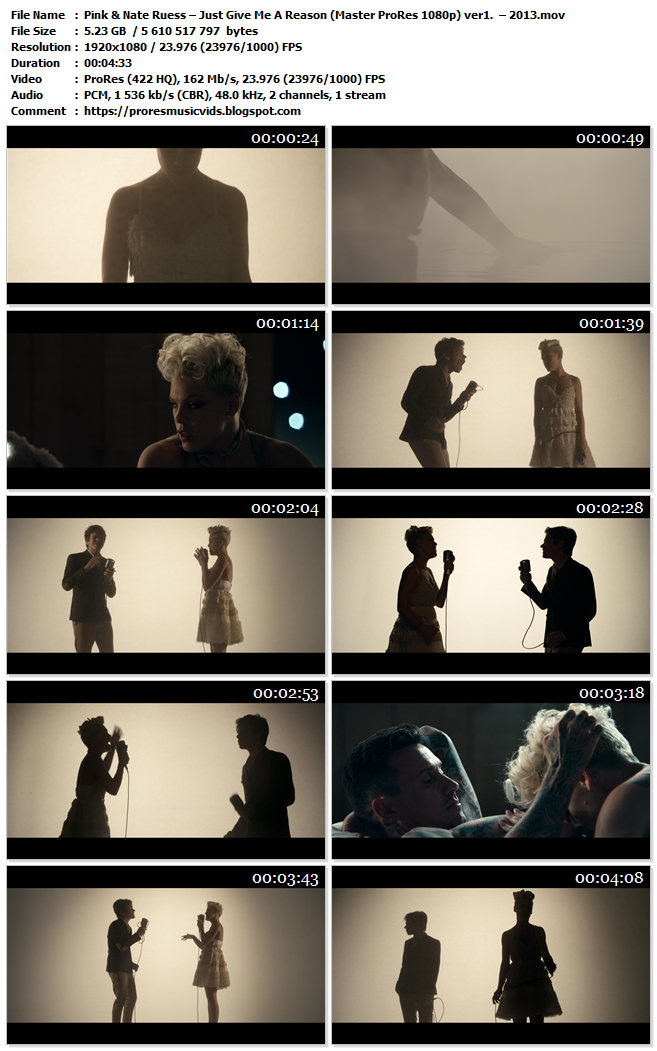 Pink & Nate Ruess – Just Give Me A Reason