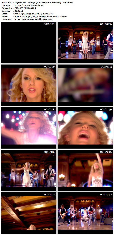 Taylor Swift – Change