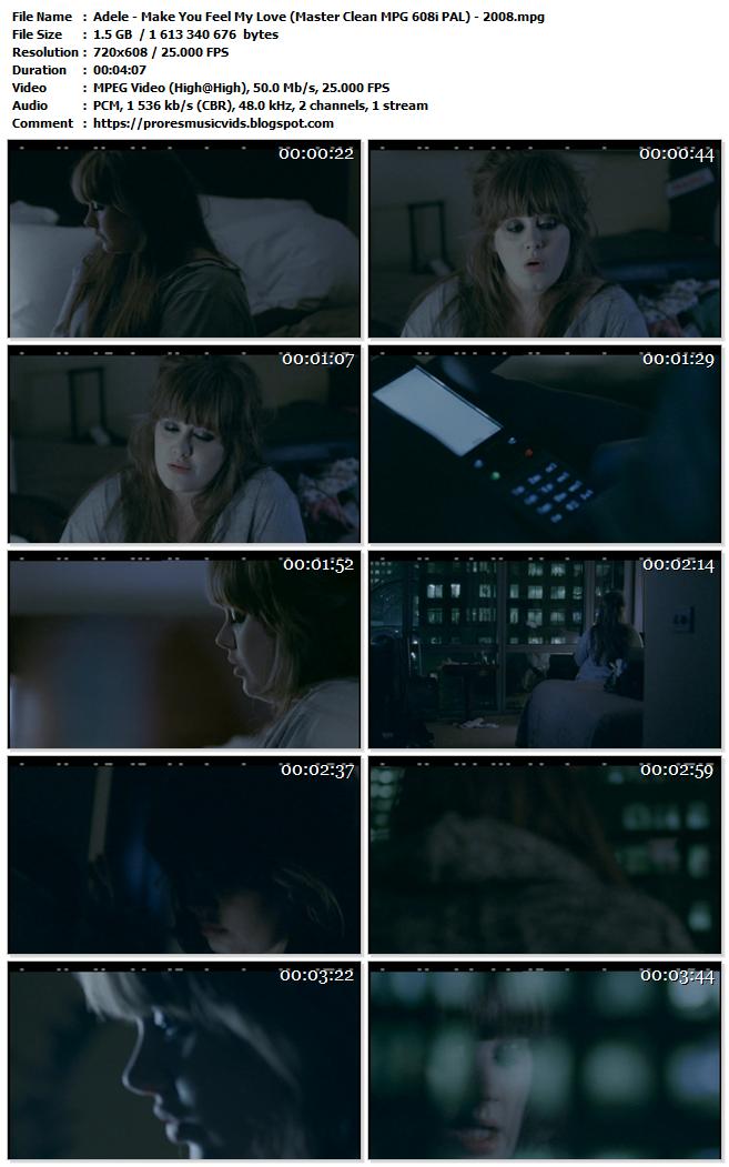 Adele – Make You Feel My Love