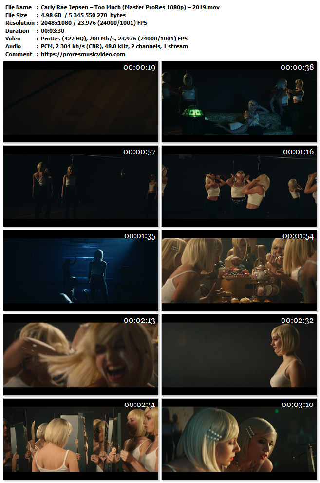 Carly Rae Jepsen – Too Much