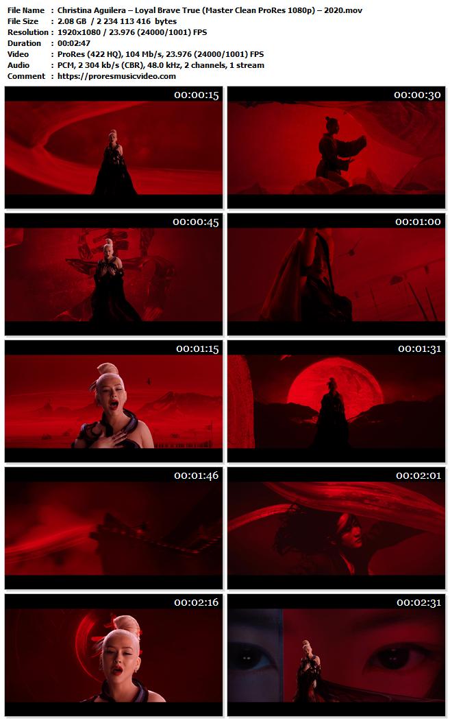 Christina Aguilera – Loyal Brave True