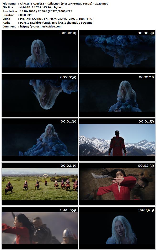 Christina Aguilera – Reflection