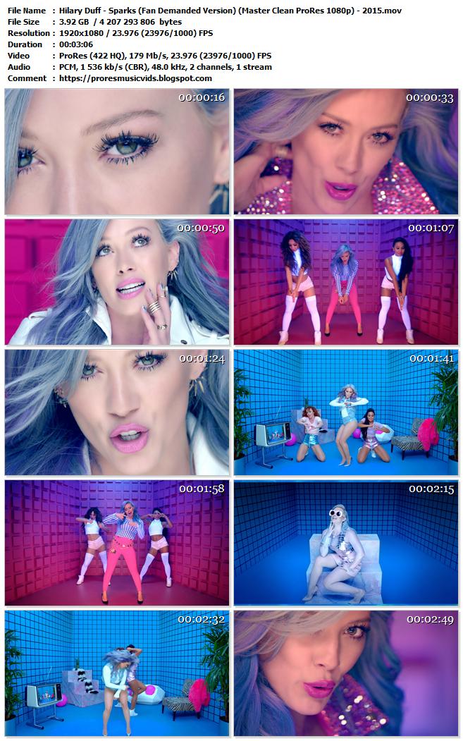 Hilary Duff – Sparks (Fan Demanded Version)