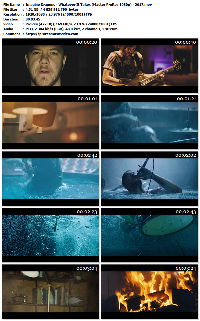 Imagine Dragons – Whatever It Takes