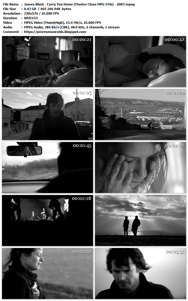 James Blunt – Carry You Home