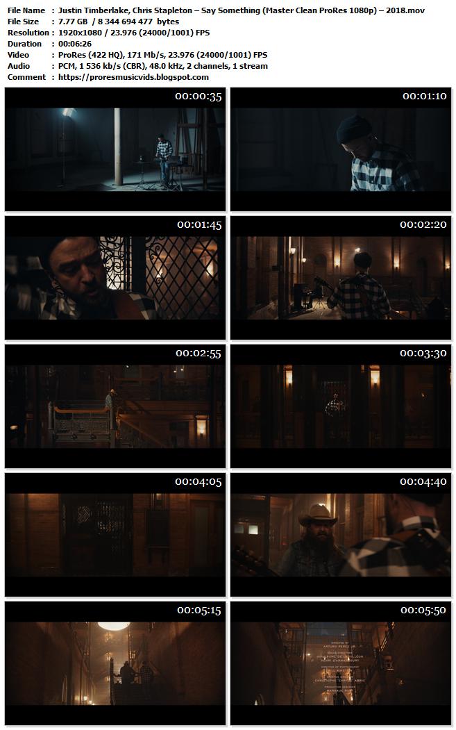 Justin Timberlake, Chris Stapleton – Say Something