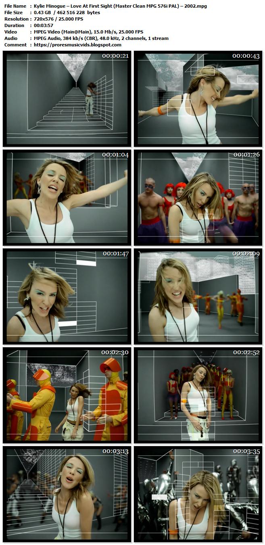 Kylie Minogue – Love At First Sight
