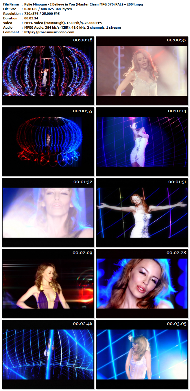 Kylie Minogue – I Believe in You