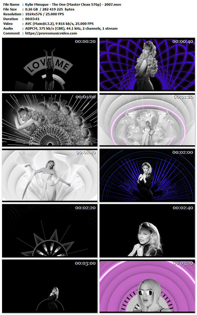 Kylie Minogue – The One