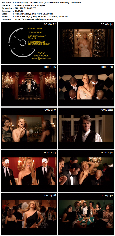 Mariah Carey –  It's Like That