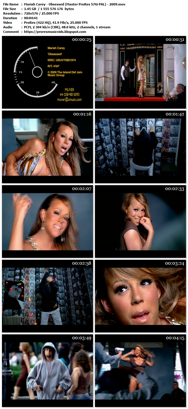 Mariah Carey – Obsessed