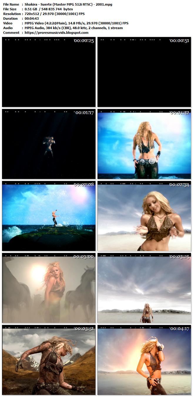 Shakira – Suerte