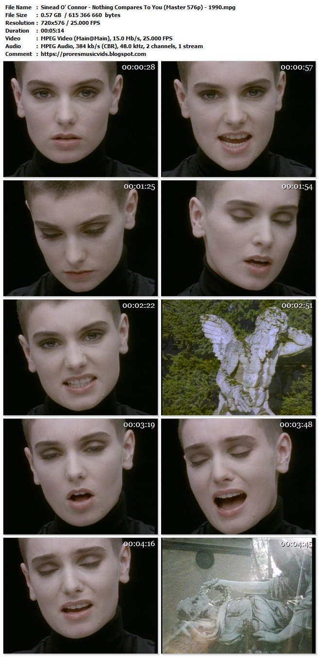 Sinead O' Connor – Nothing Compares To You