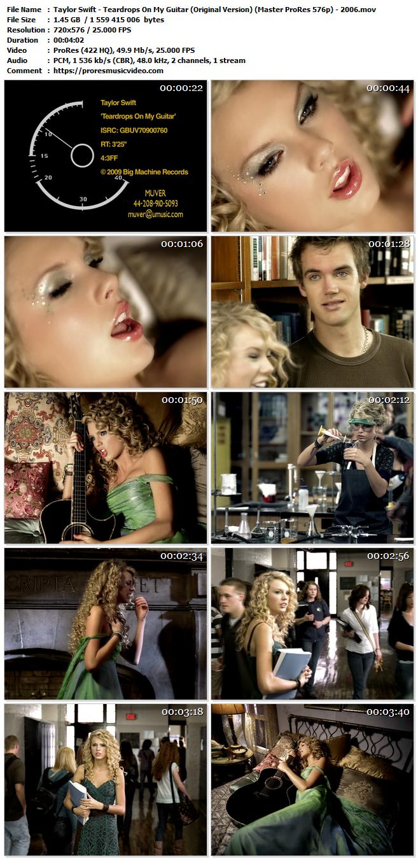 Taylor Swift – Teardrops On My Guitar (Original Version)