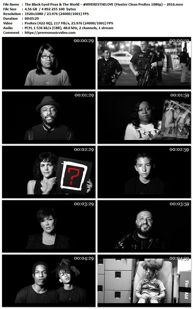 The Black Eyed Peas & The World – #WHERESTHELOVE